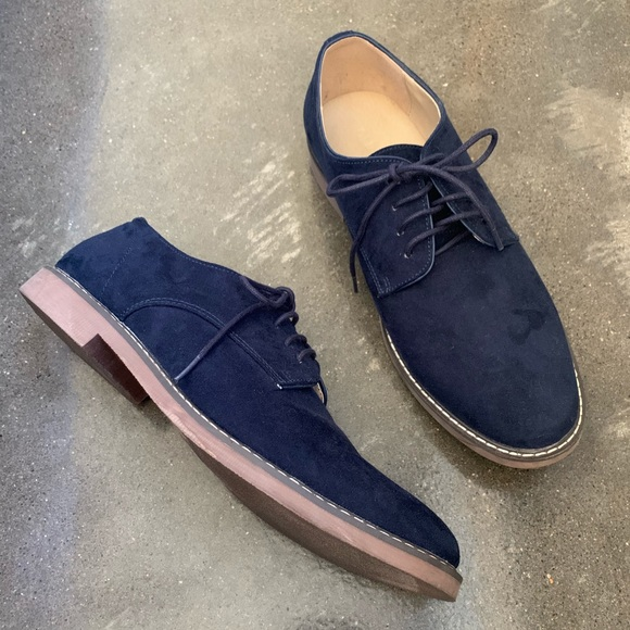 Old Navy Other - Old Navy - Navy Suede Shoes